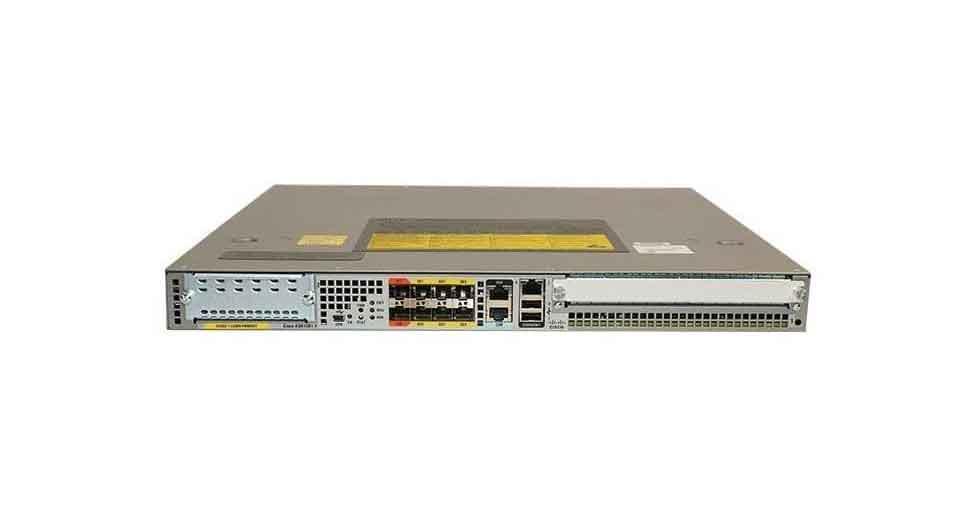 ASR1001-X Cisco ASR 1001-X Router 6 built-in GE 8GB DRAM