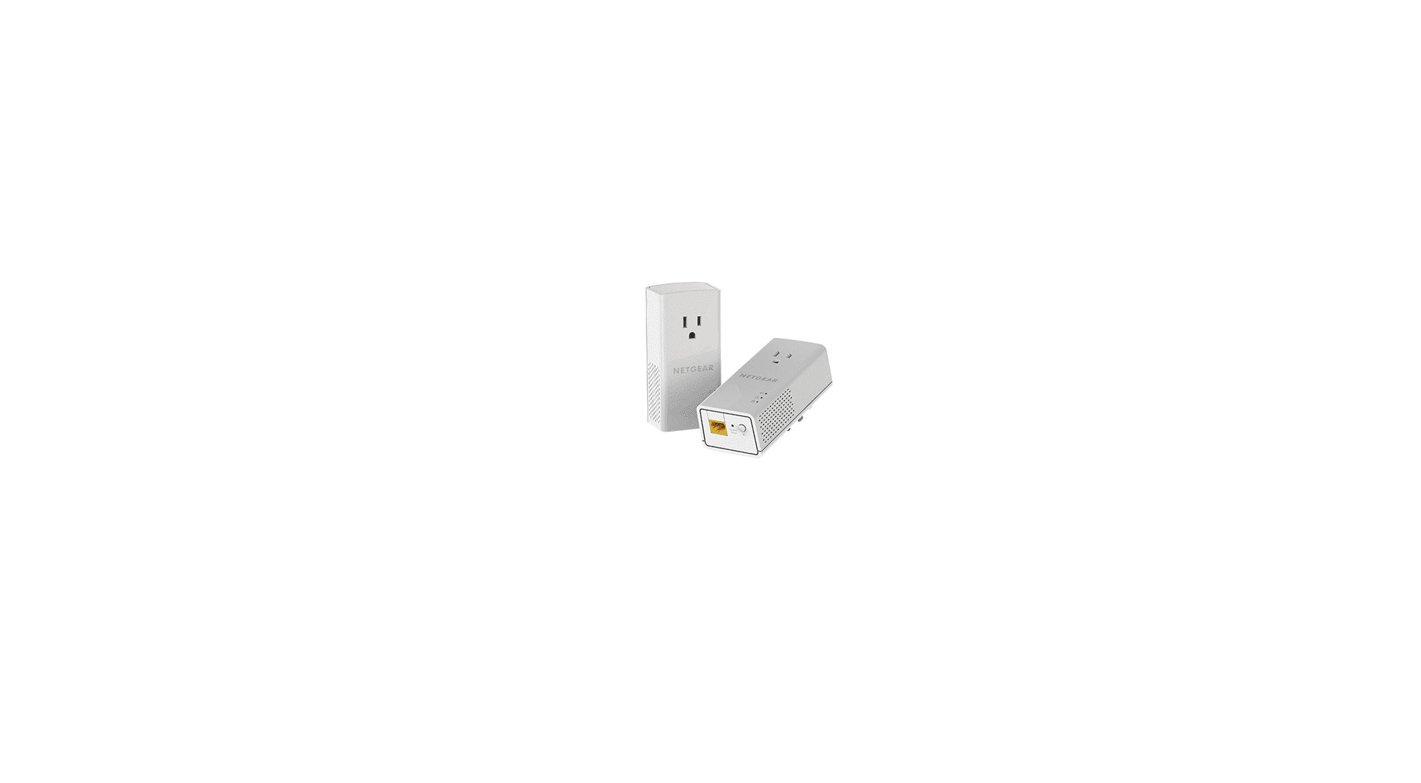 NETGEAR PowerLINE 1000 Mbps, 1 Gigabit Port with Pass