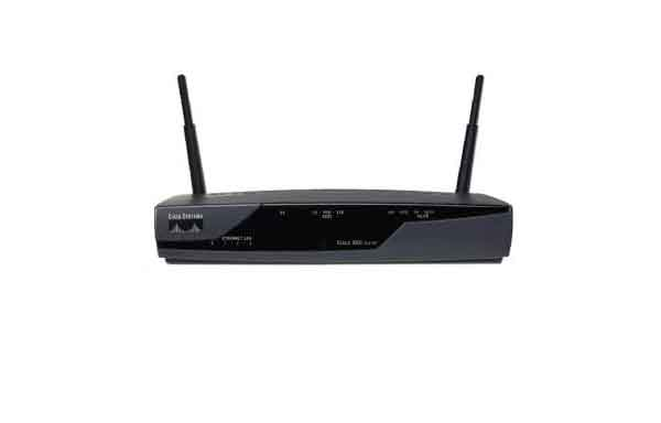 CISCO877W-G-E-K9 Cisco ADSL Security Router with wireless ETSI compliant.