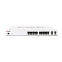 FS-124E-FPOE Fortinet FortiSwitch 124E-F-POE Ethernet Switch